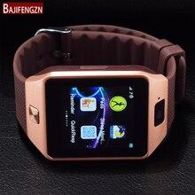 "Fashion Men Women GT08 GT88 Smart Watch For Android Support Max TF Card 32GB Sim Bluetooth Smartwatch 1.54"" TFT Wrist Bracelet"