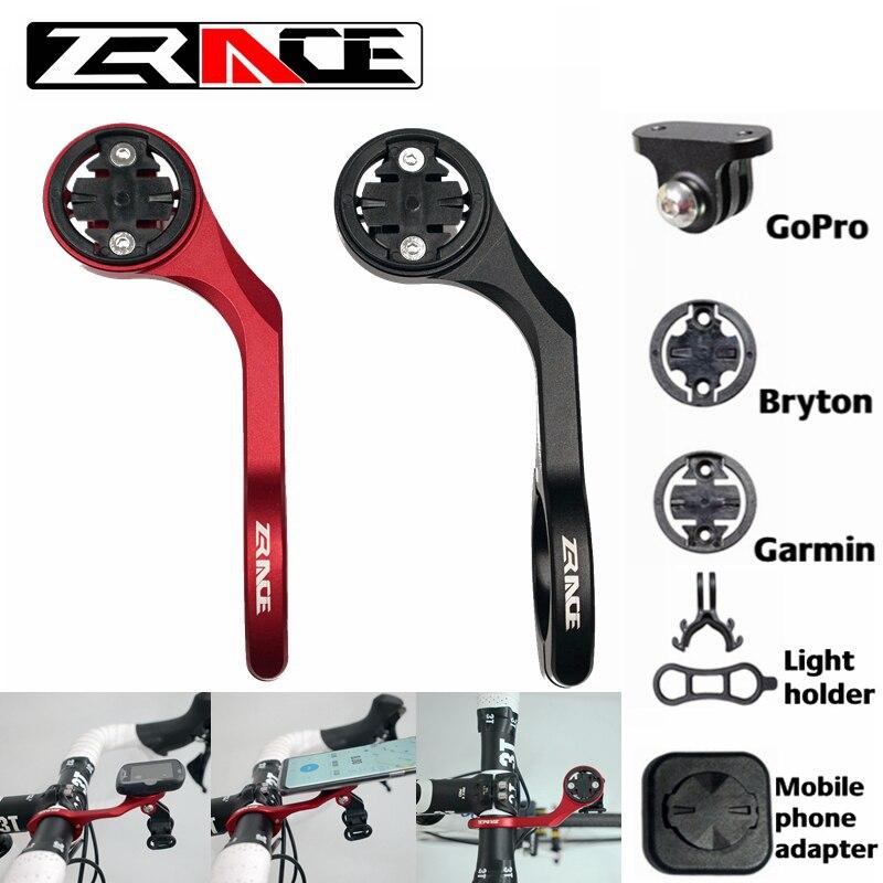 ZRACE велосипедный компьютер Камера держатель спереди велосипедным фиксирующим креплением из крепление к велосипеду аксессуары для iGPSPORT Garmin...