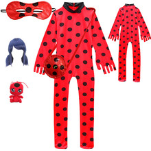 Childrens Halloween COS black cat /Ladybug clothing kids Christmas birthday party clothes for girls costume BOYS