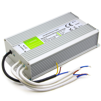 200W LED Driver Aluminum shell Output DC12V 16.7A IP67 Outdoor waterproof lighting Transformer Constant voltage Power Supply