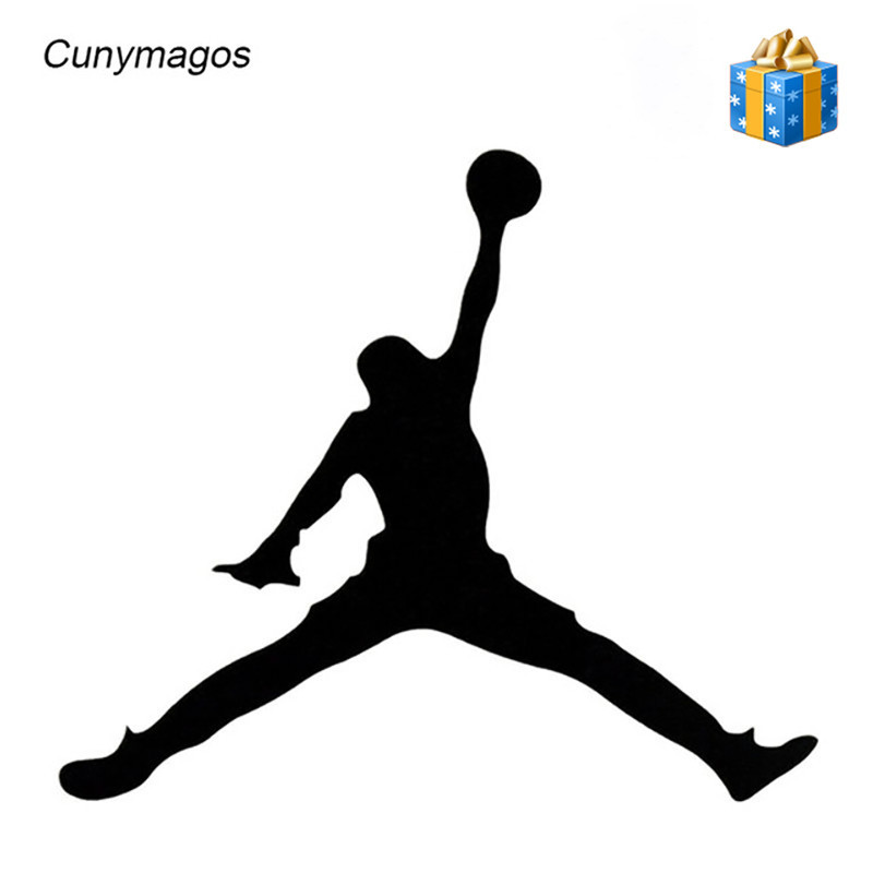 Kind-Hearted United States Basketball Michael Jordan Personality Car Decal Sticker High Quality Car Accessories Sticker Car Styling 15*12.9cm A Plastic Case Is Compartmentalized For Safe Storage Car Stickers