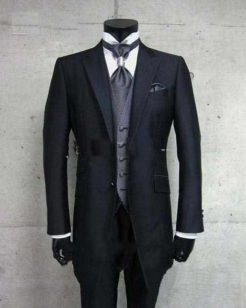Classic Men's Wedding Dress Bridegroom Suit Prom Party