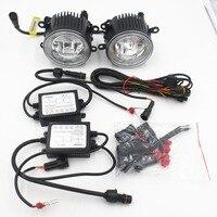 CYAN SOIL BAY Led Fog Lamp Daytime Running Light DRL 9cm For Opel AGULA Astra H