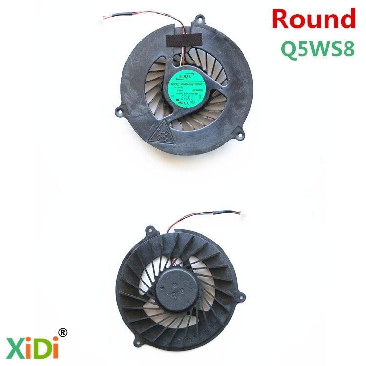 NEW AD09005HX10G300 0P5WE0 FOR ACER 5750G 5750 5755 V3-571G E1-571 V3-551G CPU COOLING FAN  (round) gzeele cpu cooling fan for acer aspire 5750g v3 571g 5750 5755 5755g 5350 p5weo e1 531g e1 571g v3 551g q5ws1 mf60090v1 c190 g99