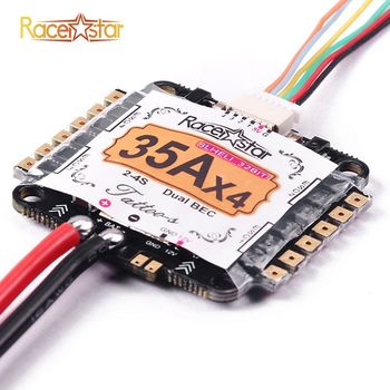 Racerstar Tattoo_S 35A 4 In 1 2-4S STM32F051/ARM Blheli_32 Dshot1200 Ready Dual BEC FPV Racing ESC For RC Quadcopter Models Part