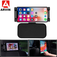 ARVIN Rotation Tablet Car Stand Holder for IPAD Air Pro 12.9 Back Seat Headrest 5 13 Inch Phone Mount Holder for iPhone Samsung