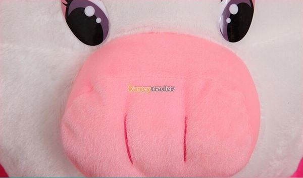 Fancytrader 35\'\' 90cm Jumbo Plush Super Lovely Stuffed Soft Pig, 2 Colors, Free Shipping FT50498 (10)