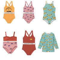 2018 Summer Pre Sale Toddler Kids Swimwear Baby Boys Girls Bobo Bikini Swimwear One Piece Swimsuit