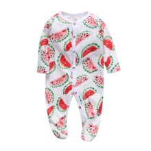 Newborn baby romper cotton boys clothes overalls pajamas infants bebes jumpsuit premature infant