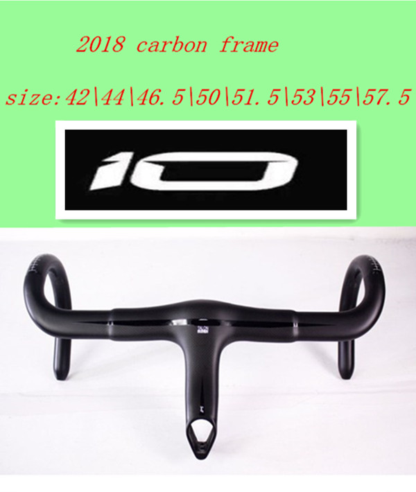 2018 NEW T1100 3K 1K aero bike carbon road frame cycling bicycle frameset + handlebar size 42 57.5taiwan can be XDB DPD shipping