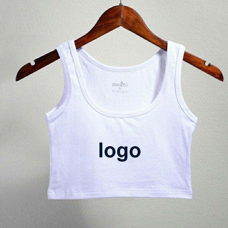 ea682e40b4900 Custom Bra Fitness Tank Vest Tops Print LOGO TEXT PHOTO Women Gift ...