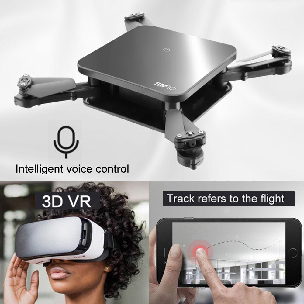 S1 WiFi Mini Drone With Camera 2MP / 0.3MP Foldable Selfie Drone RC Quadcopter FPV RC Pocket Drone Helicopter Aircraft Drone
