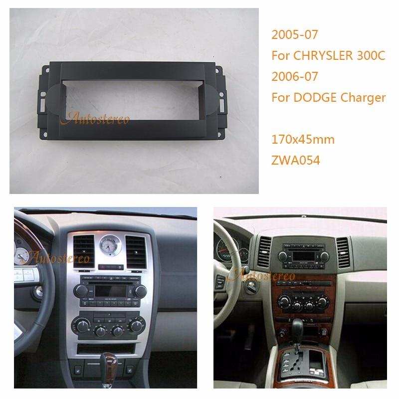 2006 Chrysler 300 C Sedan 4: Car Radio Fascia For CHRYSLER 300C 2005 07 PT Cruiser 2006