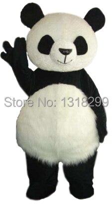 Mascotte Fat Kawaii Panda costume de mascotte fantaisie robe fantaisie costume cosplay thème mascotte carnaval costume kits