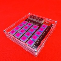 New Arrival DIY MCU Calculator Kit Digital Tube Calculator Kit Set Electronics Stocks