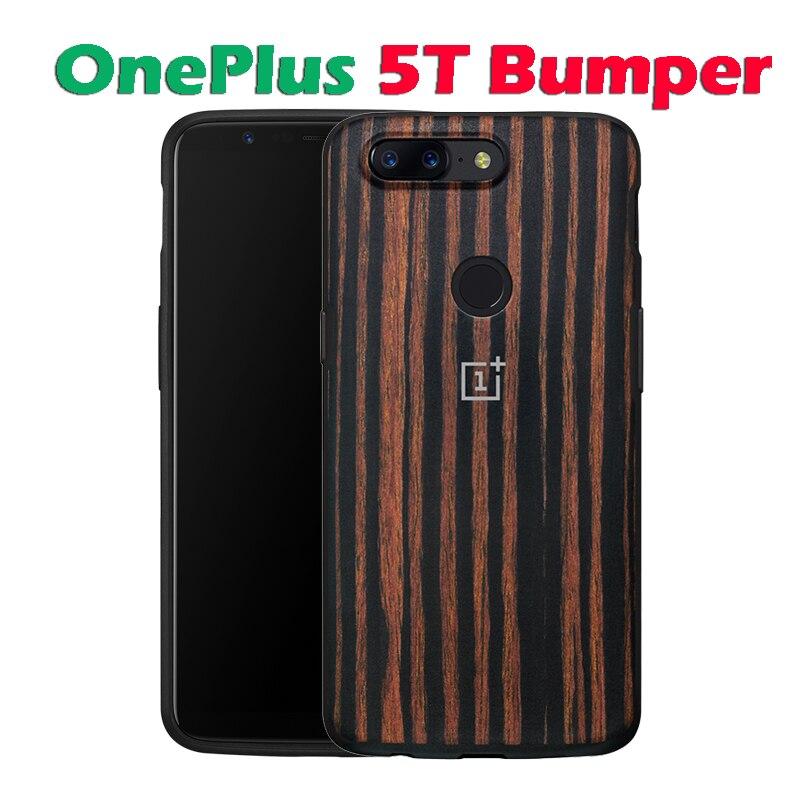 oneplus 5t ebony wood case