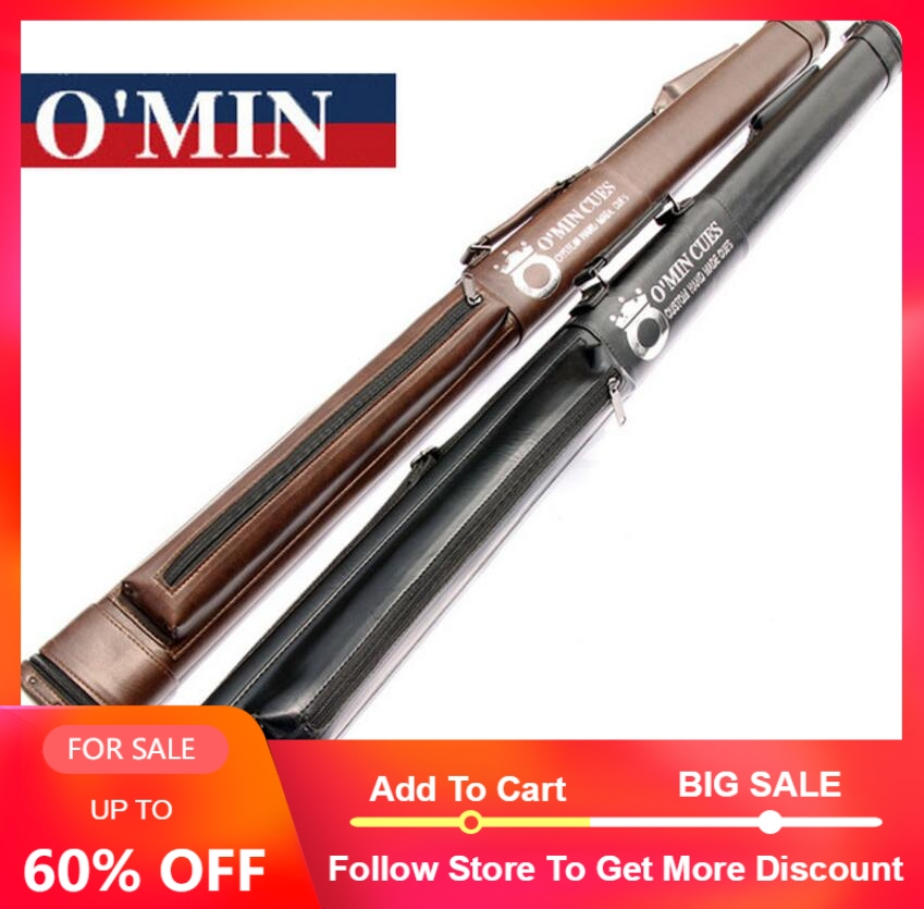 New Arrival High Quality OMin PU Leather 3/4 Snooker Cue Stick Kit Portable Cases Billiard Accessories Two Colors China 2019New Arrival High Quality OMin PU Leather 3/4 Snooker Cue Stick Kit Portable Cases Billiard Accessories Two Colors China 2019