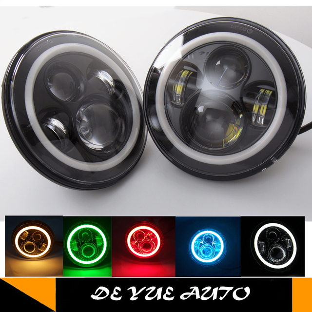 Pair Price For Suzuki Samurai 413 7inch Led Headlamp Headlights With