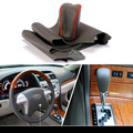 Cowhide Sew-on Genuine Leather Steering Wheel Cover For Toyota Camry 10-11 AT