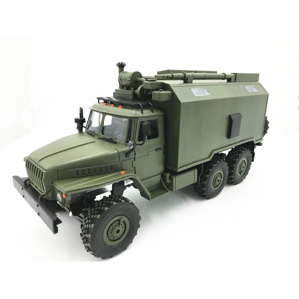 WPL modèle B36 RC camion voiture sur chenilles Mini tout-terrain télécommande 1:1 contrôle Ural véhicule militaire escalade adulte jouet bricolage RTR Carro Eletrico - 2