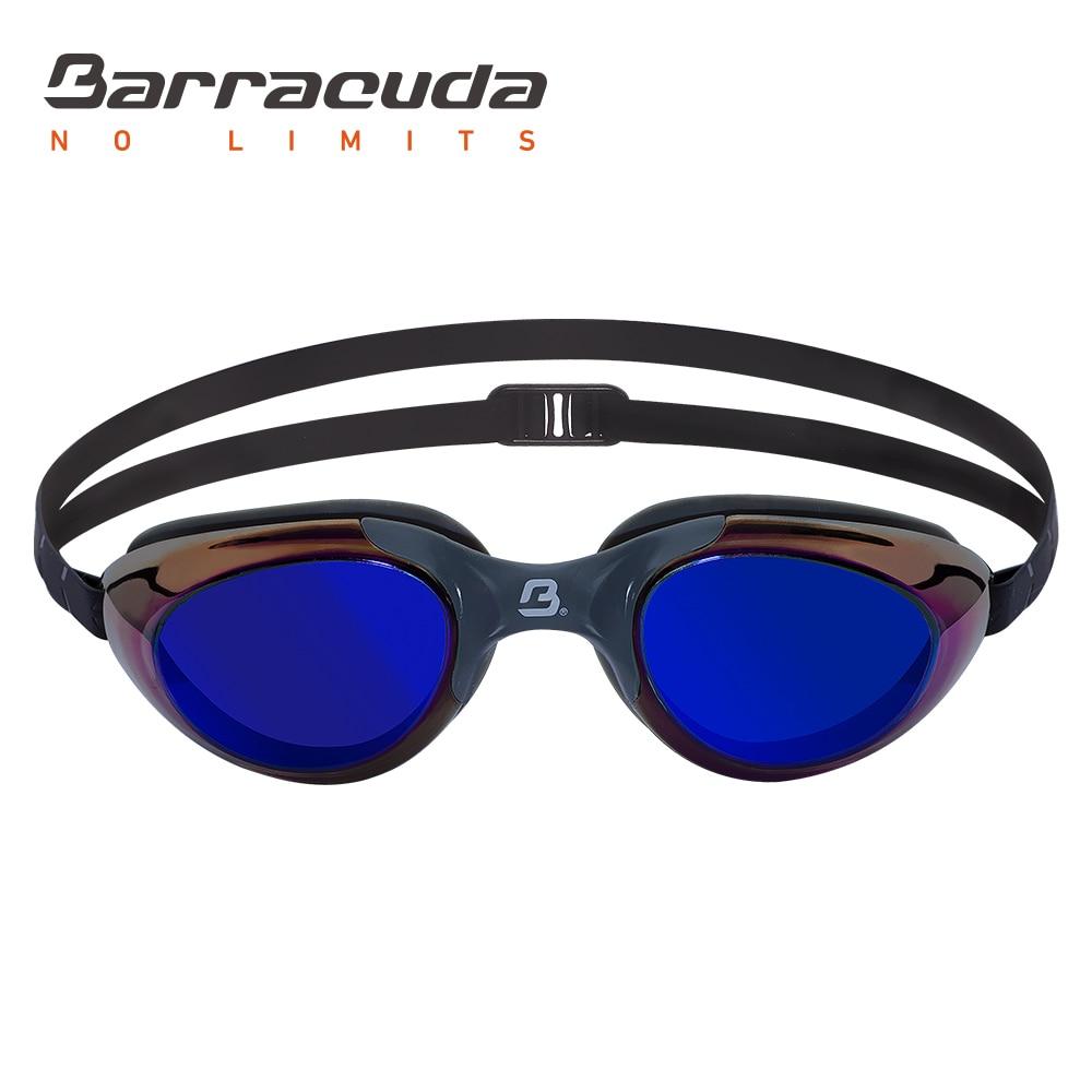 4f7ee0c579f Barracuda Swim Goggle MERMAID MIRROR Mirror Lenses Streamlined Design  Anti-Fog UV Protection for Adults Women Ladies  13110