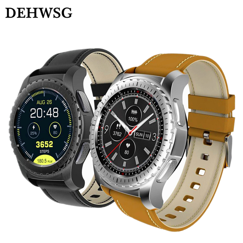 Smartwatch DK28 Bluetooth Heart Rate Monitor Remote Camera support SIM TF Card smart watch Men For Samsung gear s3 IOS Huawei 2 hot kw18 bluetooth smart watch smartwatch phone support sim tf card fitness wristwatch for apple samsung gear s2 huawei