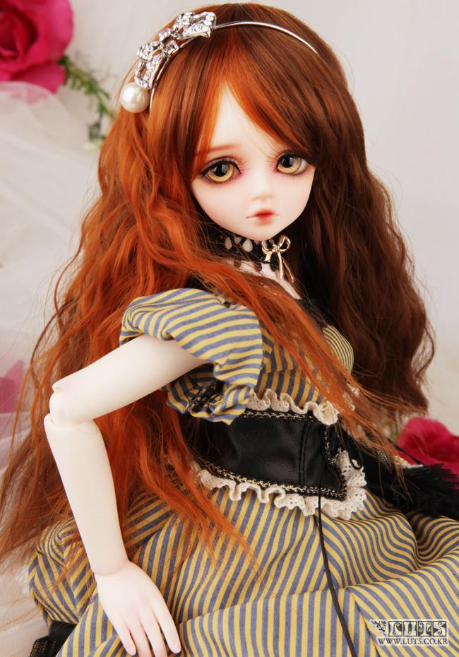 1/4 scale 43cm  BJD nude doll DIY Make up,Dress up SD doll.luts Kid  CHERRY Girl CHERRY .not included Apparel and wig 1 4 scale bjd lovely cute bjd sd human body kid serin