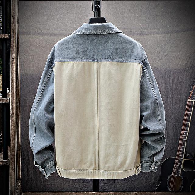 2019 new denim jacket men's hip hop patchwork retro street casual bomber jackets slim men high quality cowboy Jean Jacket