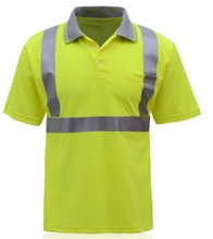 Reflective T-shirt tremendous reflective garments fluorescent safety clothes summer season shiny silver moisture absorption breathable