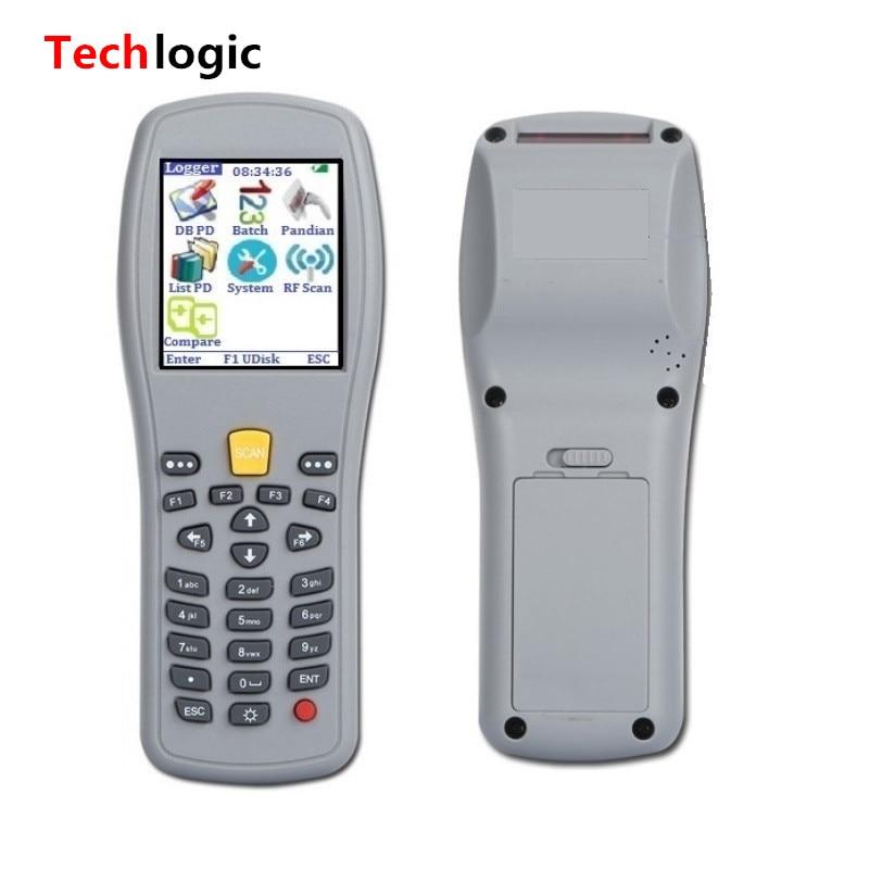 Techlogic X5 Portable Barkod skaneri Simsiz ştrix kod Silahlı Əl - Ofis elektronikası - Fotoqrafiya 3