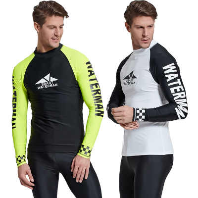 TOP ONLY wetsuit spearfishing neoprene diving suit for men windsurf surfing triatlon swiming diving freediving Sun protection