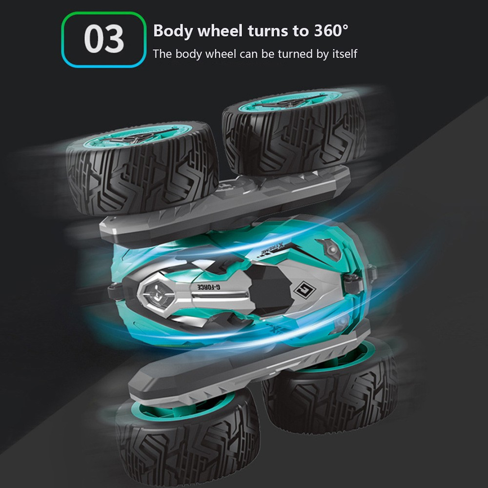 Image 5 - rc car Super four wheel drive off road rc car drift stunt deformation double sided car rechargeable children's toy car-in RC Cars from Toys & Hobbies