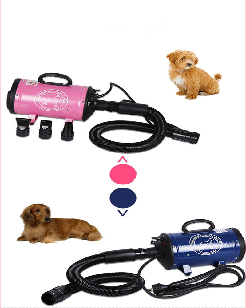 1pc 220V pet products dog supplies Pet Dryer Dog Hair Dryer CS 2400 2400W Pet Variable Speed Pet dog blowing machine