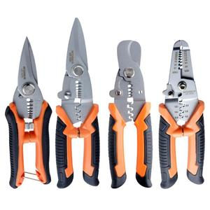 Multi tool Pliers Crimping Pliers Cable Wire Stripper Cutter Multi functional Snap Ring Terminals Crimpper Carpenter's Tools