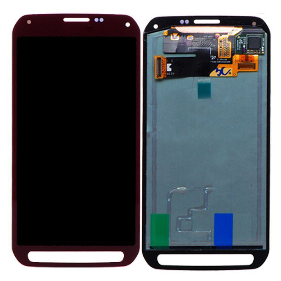 Подробнее о Red Touch Screen Digitizer + LCD Display Assembly Replacement FOR Samsung Galaxy S5 Active G870 G870A Free shipping for meizu m2 mini lcd touch screen digitizer display 5 0 cellphone black color free shipping digitizer assembly replacement