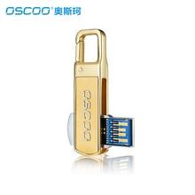 OSCOO USB 3,0 Flash Drive 64 ГБ 32 ГБ 16 ГБ Водонепроницаемый металла Memory Stick Drive брелок Ручка U диск высокой Скорость USB 3,0 флешки
