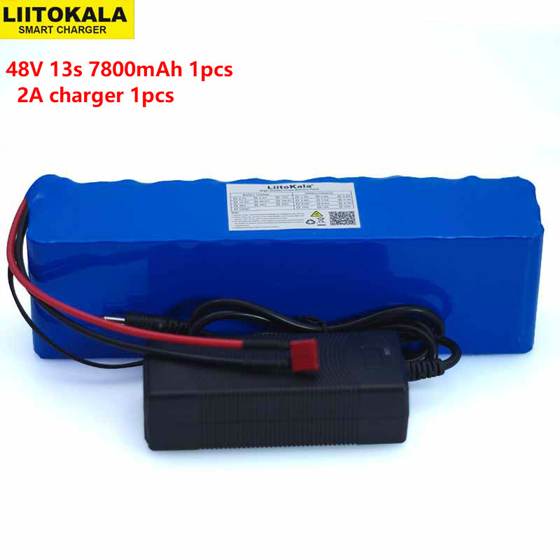 LiitoKala 48V 7 8ah 13s3p High Power 18650 Battery Electric Vehicle Electric Motorcycle DIY Battery BMS