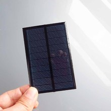 2PCS X 5V 150mA Mini monocrystalline polycrystalline solar Panel battery cell charger phone