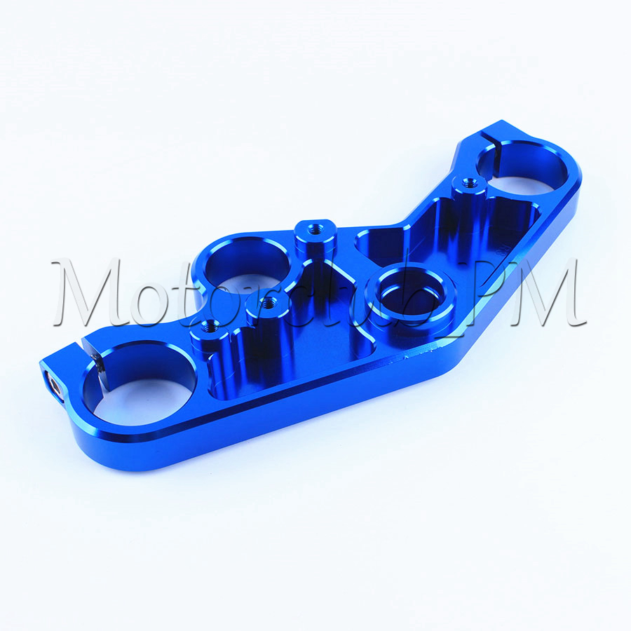 High-Quality Aluminum Front End Upper Triple Tree Top Clamp For Yamaha YZF R3 R25 2014-2016 2015 Blue for bmw 3 series e36 318 328 323 325 front coilover strut camber plate top mount green drift front domlager top upper mount