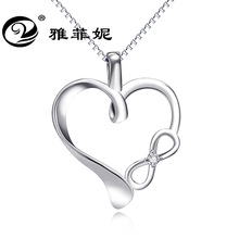 item 925 sterling silver jewelry pendant infinite love microscope necklace deserve to act the role of amazon detonation act of love