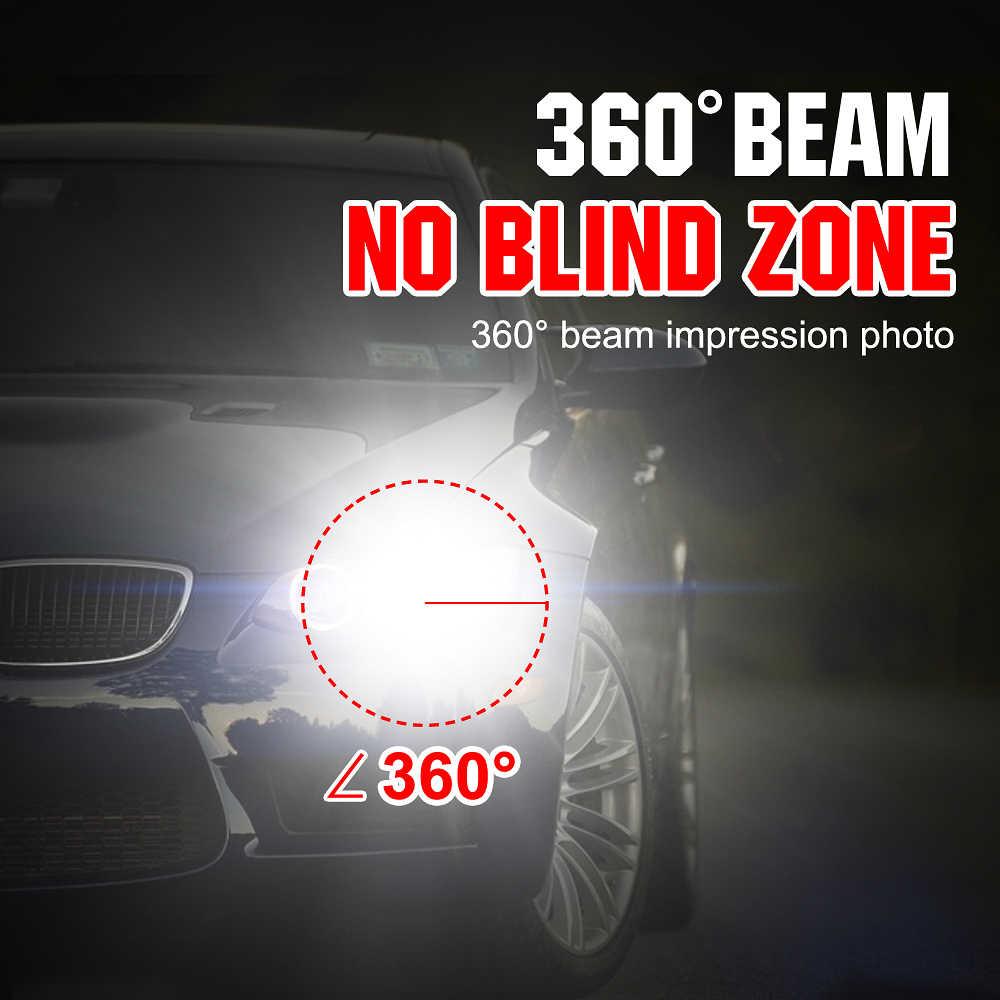 MUXALL Headlight H4 LED Bulb H7 H11 H1 H3 9006/HB4 9005/HB3 9004 9007 H13 Headlamp kit 72W 8000lm Car LED Head Light H 4 7 Lamp
