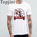 Men's Fashion Tshirt 2017 New Arrival Bicycle Logo Printed Tops Tee Short Sleeve Slim T-Shirt Summer Style Cotton Men T Shirt