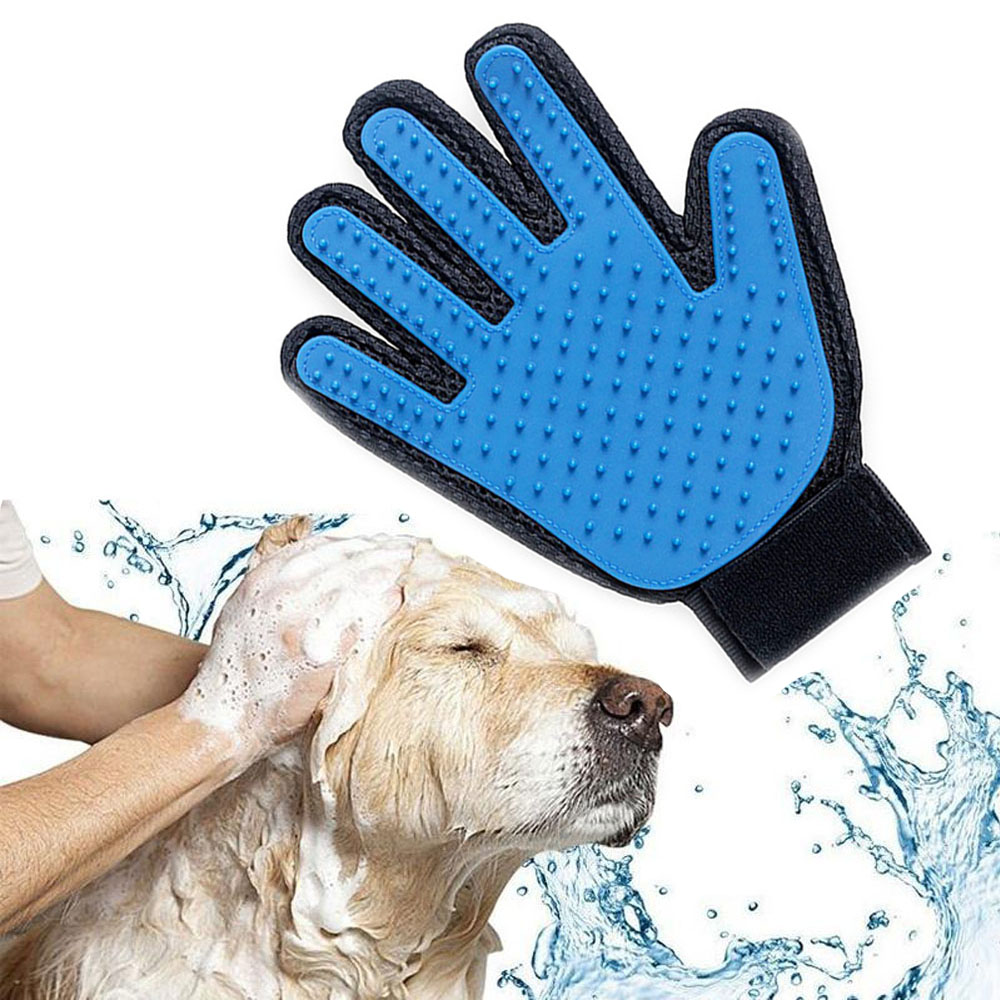 Apparel Accessories Dogcat Hair Comb Cleaningbrush Comb Animal Massage Hair Removal Dog Bath Glove Red Plastic Grooming Sale Price