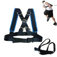 Fitness Running Speed Training Sled Shoulder Harness Weight Bearing Vest Home Gym Fitness BodyBuilding Outdoor Equipment