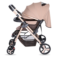 2017 HOT SALE YA – 2305 Multifunctional Stroller Baby Cart With Brake System Universal Casters Lightweight Folding Baby Carriage Activity & Gear
