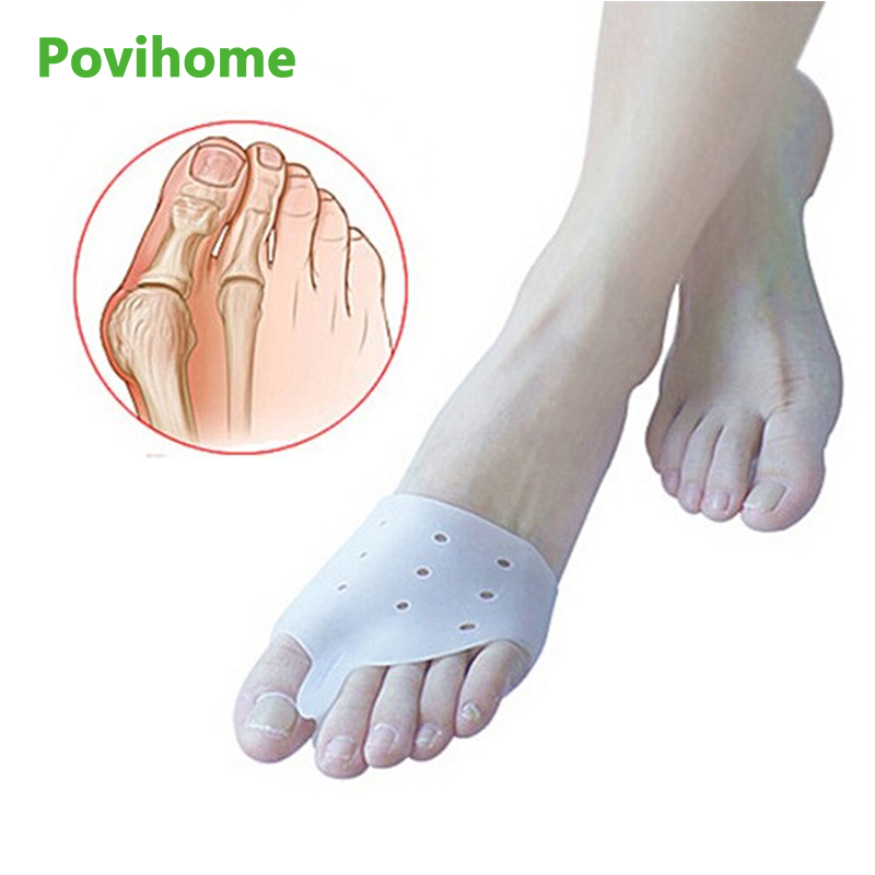 2pcs Genuine New Special Hallux Valgus Bicyclic Thumb Orthopedic Braces To Correct Daily Silicone Toe Big Bone  Care Z24601
