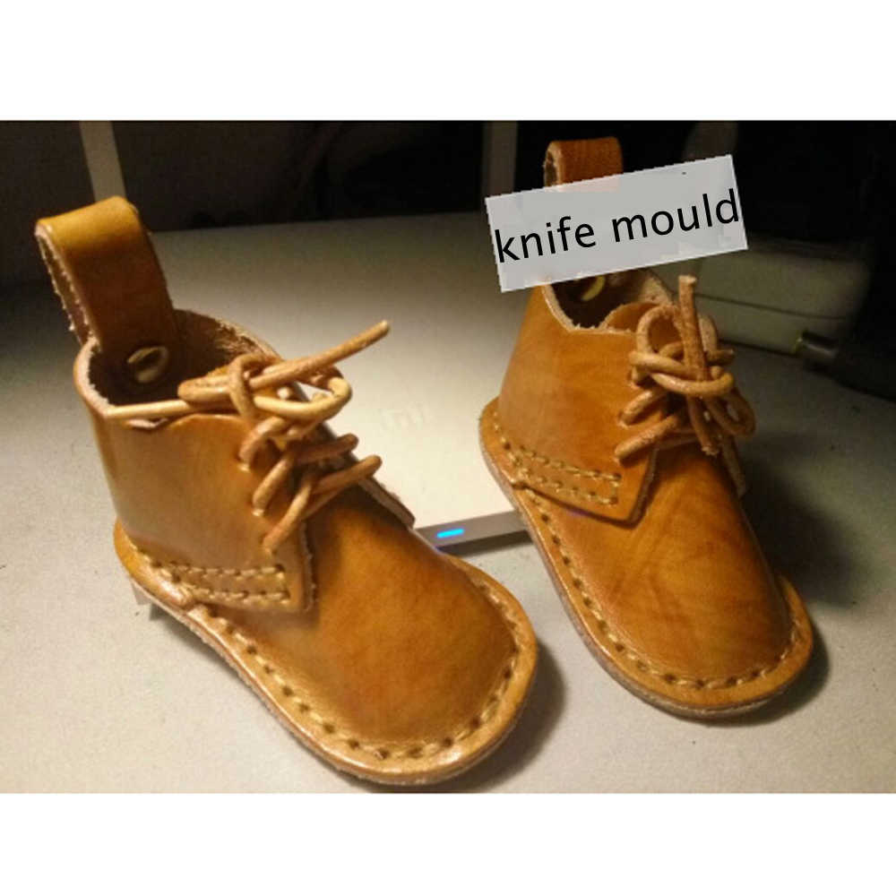 Diy Leather Craft Shoes Design Die Cutting Knife Mould