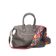 2016 New Soft Casual Tote 100% Genuine Leather Handbag Shoulder Bags For Girls Women Messenger Bag Handbags Totes Bolsa Sacs