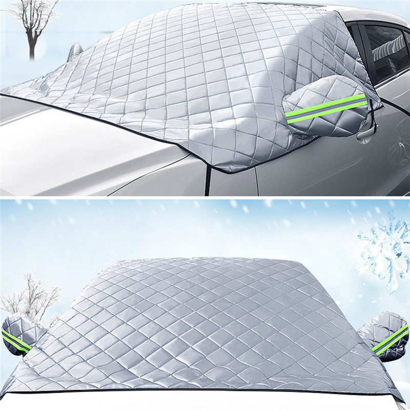 Car Windshield Snow Cover Sun Shade Protector Thicker Snow Protection Cover dropship d25Car Windshield Snow Cover Sun Shade Protector Thicker Snow Protection Cover dropship d25