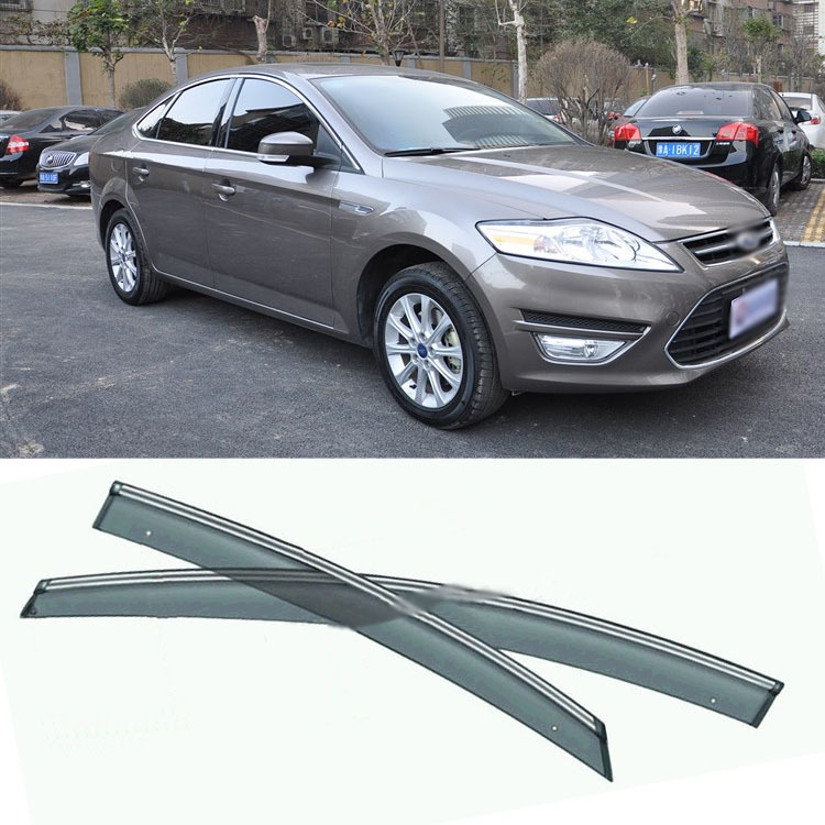 4pcs Blade Side Windows Deflectors Door Sun Visor Shield For Ford Mondeo 2007-2012 4pcs blade side windows deflectors door sun visor shield for toyota verso ez 2011 2014